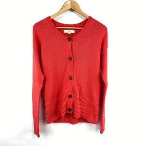 Ann Taylor LOFT Merino Wool Blend Cardigan 3607